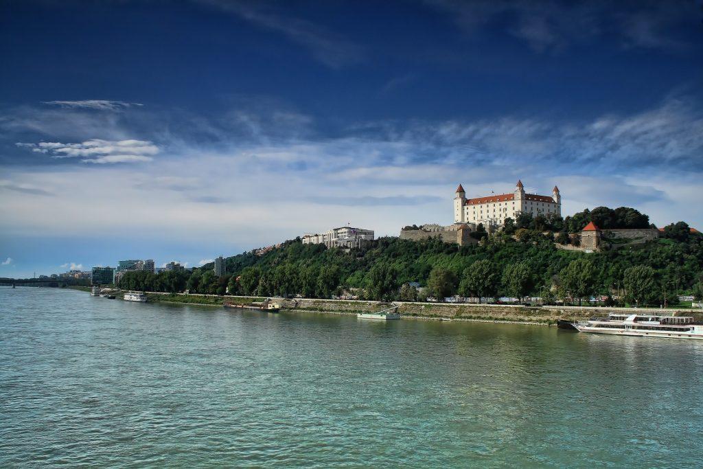 Die Donau in Bratislava.