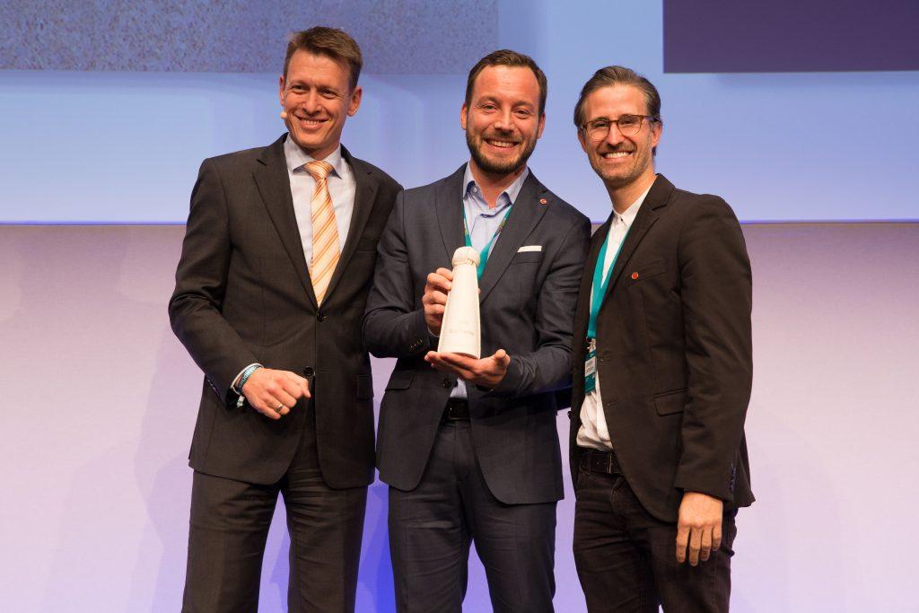 Verleihung der Ecotrophea DRV Jahrestagung Berlin 28.10.2016.
