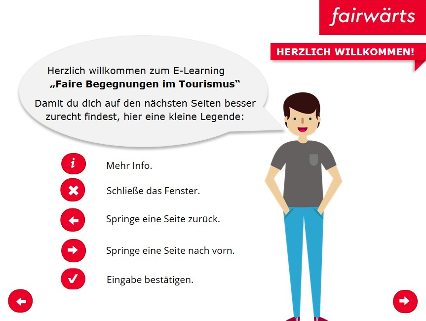 Einblick in das E-Learning