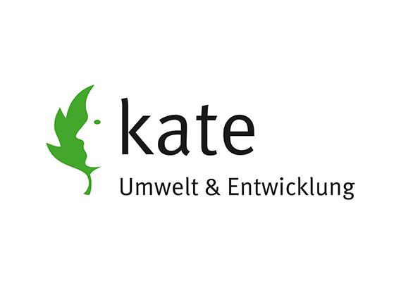 Logo kate Umwelt und Entwicklung
