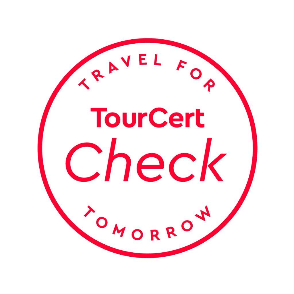 Das TourCert Check Zeichen