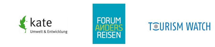 Logos von kate, forum anders reisen, Tourism Watch