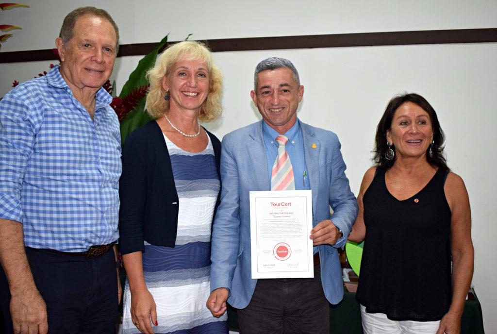 Zertifikatsübergabe in Sarapiquí © TourCert