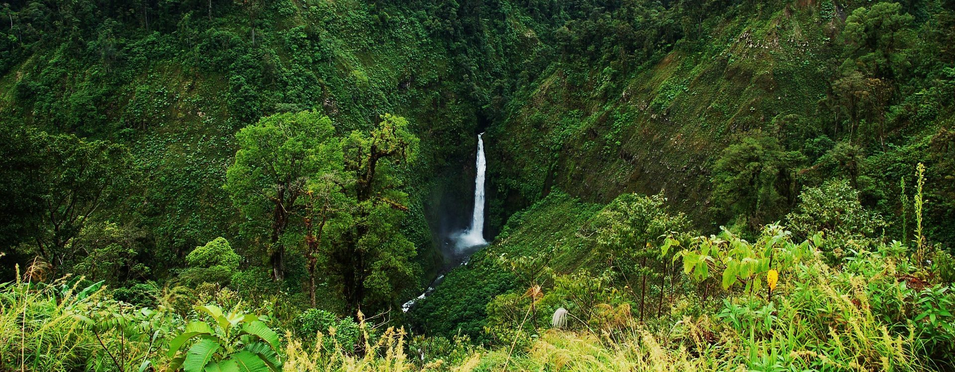 Sarapiquí Wasserfall in Costa Rica