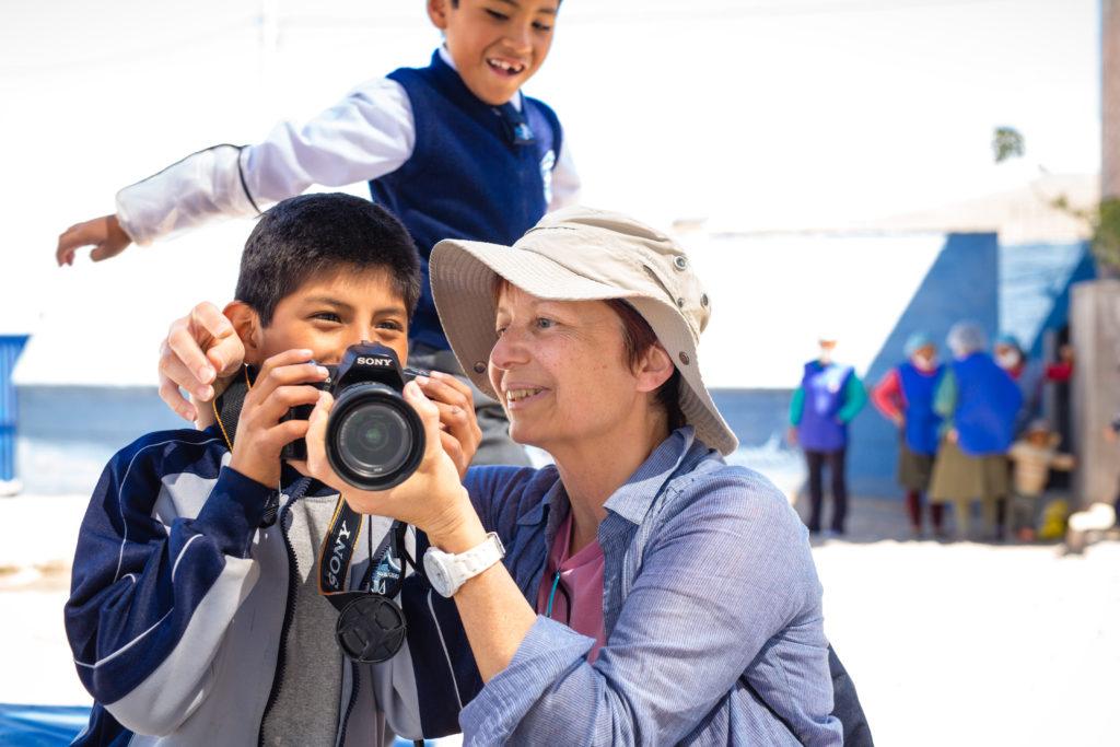 Besuch bei einem viSozial-Projekt in Arequipa, Peru