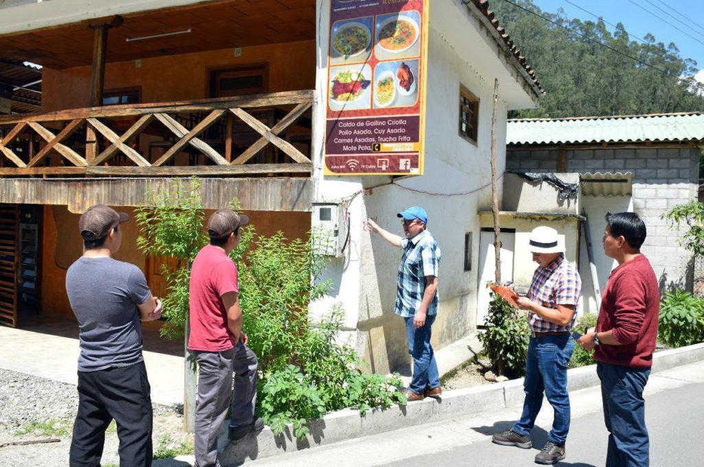 Umweltbegehung beim Restaurant Bioyanuncay