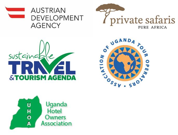 Logos der Partner für Projekt Uganda