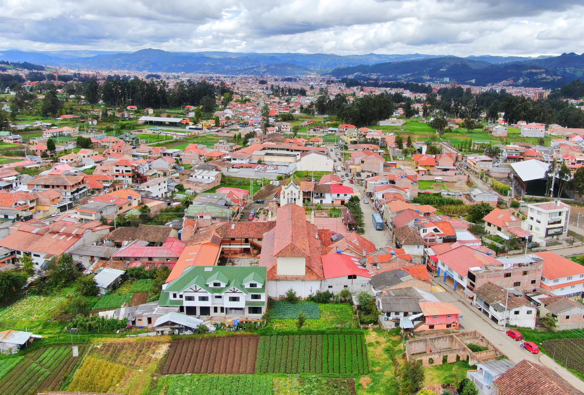 San Joaquín aus der Luft