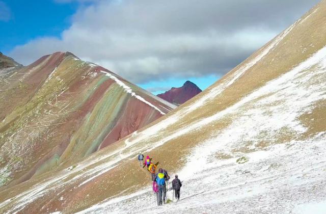 Regenbogenberge in Peru © Andean Lodges