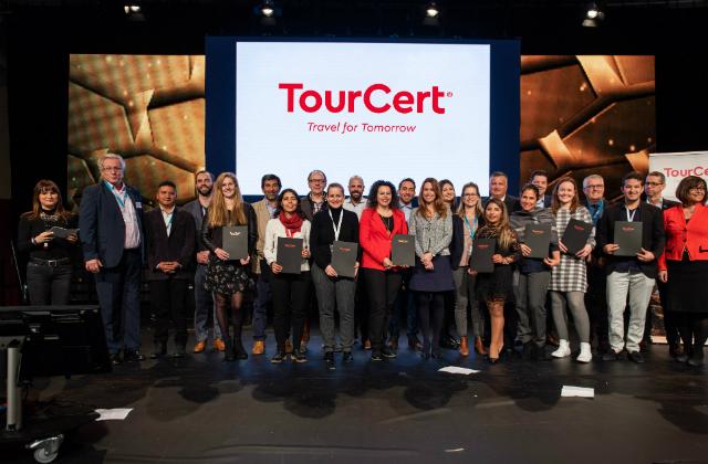 Große Zertifizierungsfeier auf der ITB 2019 in Berlin © TourCert