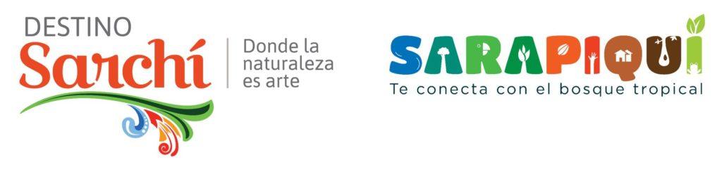 Logos Sarchí und Sarapiquí