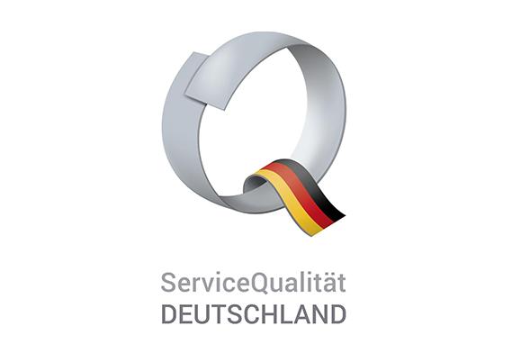 Logo ServiceQualität Deutschland, Partner im Nachhaltigen Tourismus und TourCert Check