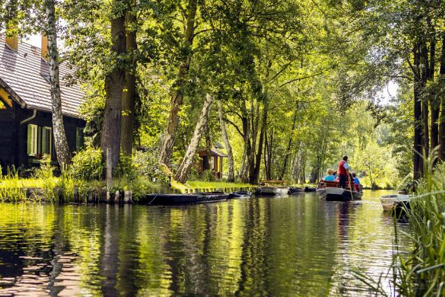 Bootsfahrt im Spreewald © Spreewald Tourismus