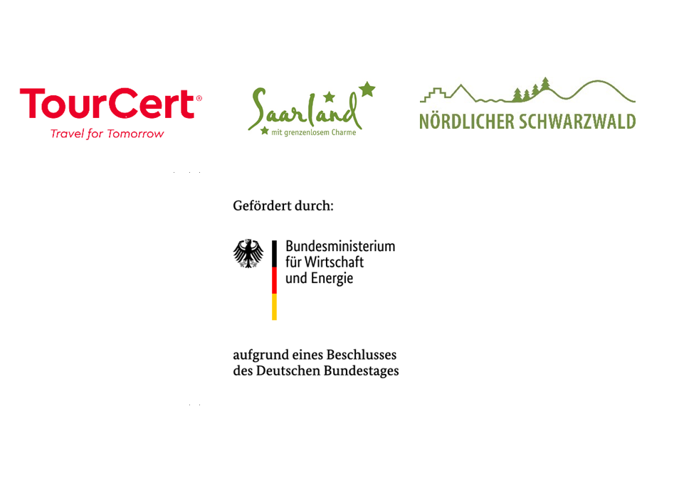 Logos of the partners TourCerts for the Excellence Initiative