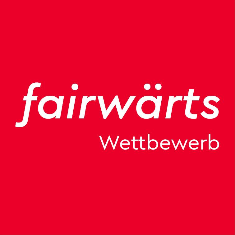 Das Logo des fairwärts-Wettbewerbs.