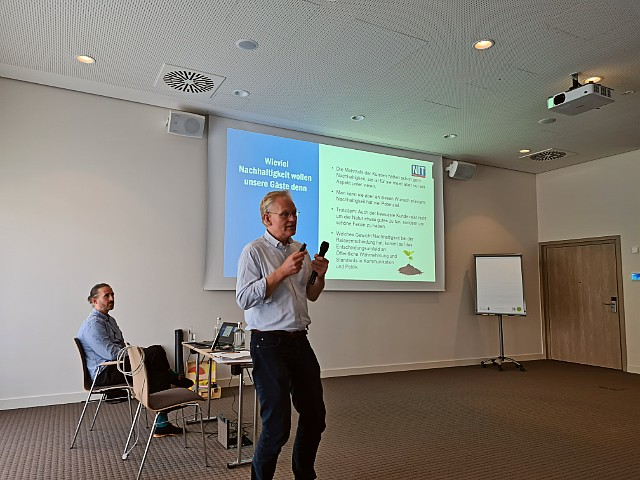 Wolfgang Günter from the Institute for Tourism Research in Northern Europe (N.I.T.)