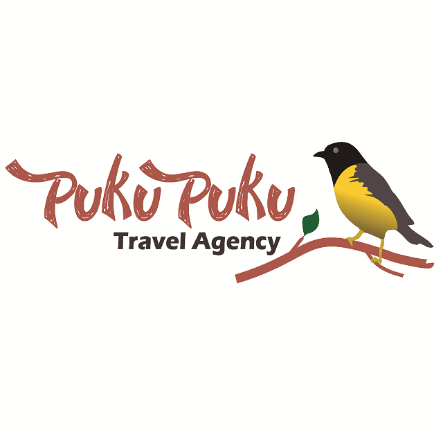 Logo of the Pukupuku Travel Agency.