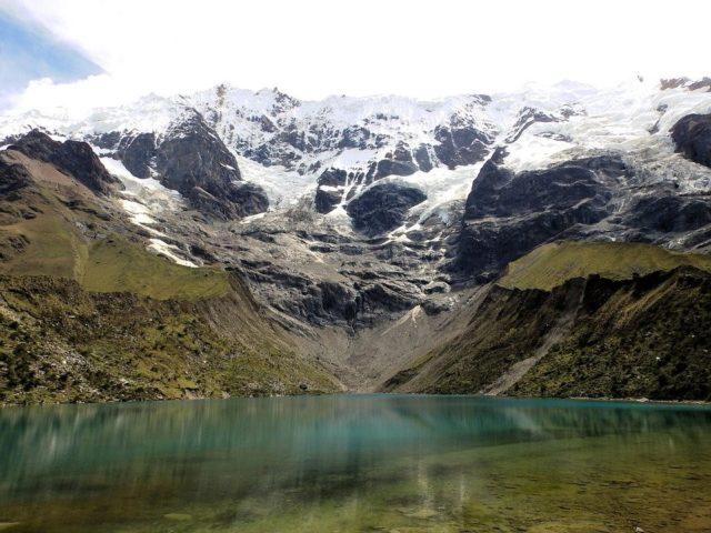 Lagunen in Peru.