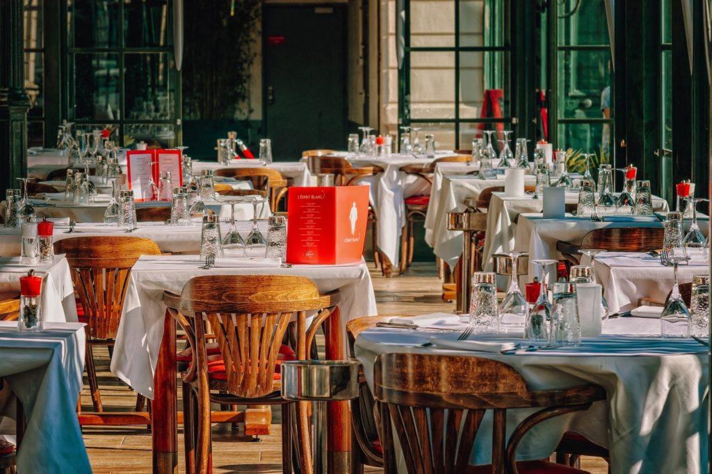 Un restaurante vacío