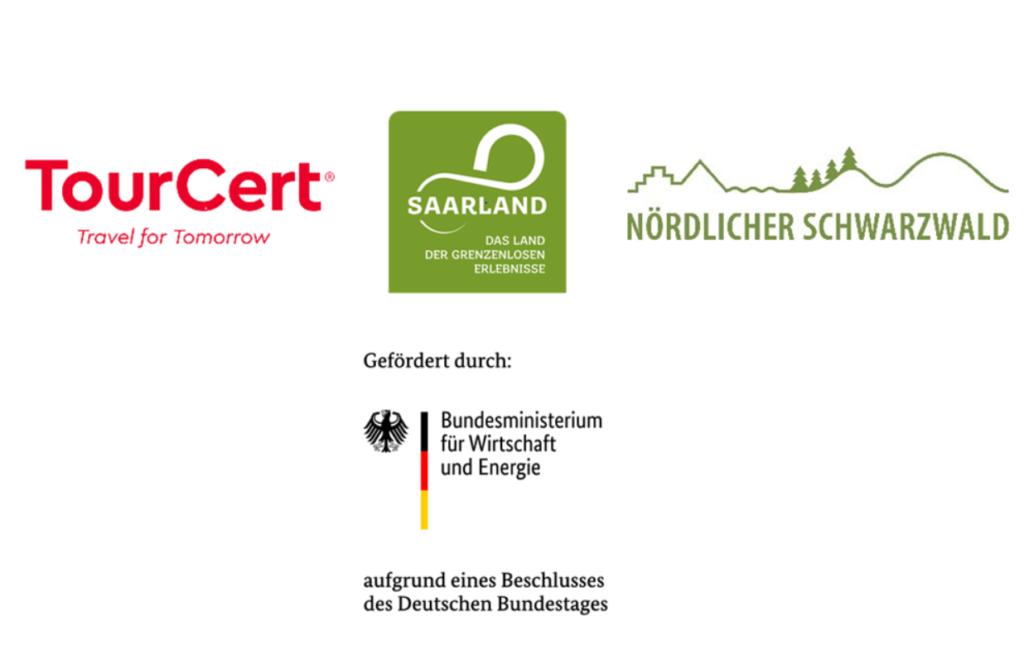 Logotipos de los socios TourCerts para la Iniciativa de Excelencia