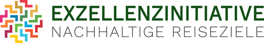 Das Logo der Exzellenzinitiative Nachhaltige Reiseziele.