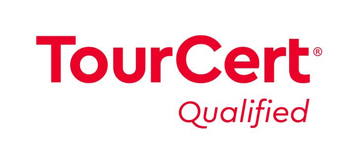 Das TourCert Qualified Logo.